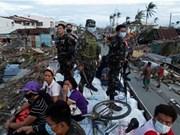 """越南国防部捐助3万美元协助菲律宾国防部克服台风""""海燕""""后果"""