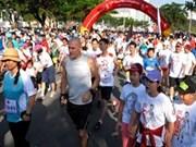 """1.5万人参加2013年""""特里·福克斯""""希望马拉松赛"""