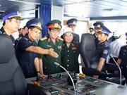 越南国防部代表团圆满结束访问长沙岛县之旅