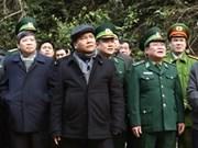 越南政府副总理阮春福视察谅山省