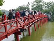 2013年越南首都河内接待游客量大幅增长