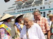 2014年1月赴越旅游的国际游客量剧增