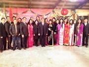 旅居海外越南人喜迎马年新春