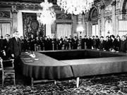 1973年签署的巴黎协定:正义斗争的胜利成果