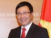 越南和中国外长通电话互相拜年