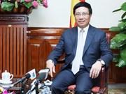 越南外交工作一直关注捍卫祖国主权与领土完整