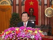 越南国家主席张晋创发表2014年新春贺词