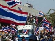 泰国法庭向反政府示威领袖发出逮捕令