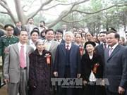阮富仲总书记:一人栽下一棵树 国家会变成一片绿色