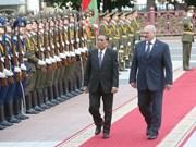 老挝和白俄罗斯加强多方面合作关系