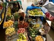 越南西南部水上市场的特色