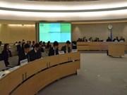 越南人权审议报告草案在日内瓦顺利通过