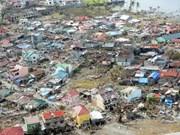 亚行资助菲律宾海燕台风灾后重建工作