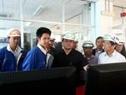 越南政府副总理黄忠海探访林同省新莱铝矾土组合项目
