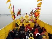 太平省陈庙庙会迎水仪式独特之处