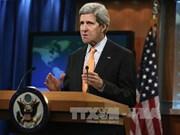 美国国务卿约翰·克里开始访问亚洲各国