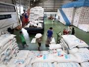 2014年1月份菲律宾大米库存总量大幅减少