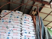 越南富美氮肥首次出口缅甸