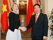 越南与澳大利亚加强多各领域务实合作
