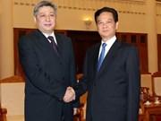 越南政府总理阮晋勇会见吉尔吉斯斯坦外长