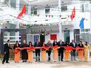岘港市橙毒剂受害者蒸气排毒和康复中心落成
