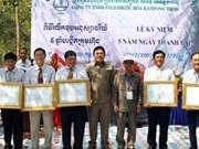 越南企业为柬埔寨经济社会发展事业做出积极贡献