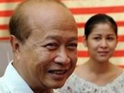 柬埔寨亲王拉那烈宣布重返政坛
