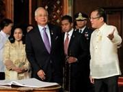 菲律宾总统阿基诺三世对马来西亚进行正式访问