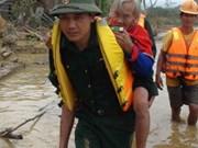 越南同世界各国分享应对自然灾害经验