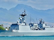 韩国海军军舰访问胡志明市