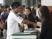 泰国5府举行选举补投