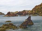 归仁海边海明渔村宁静优美的海滨风光