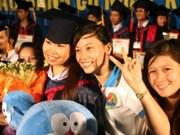 越南在接受老挝学生的国家排行榜上居榜首