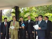 柬埔寨人民党和救国党混合委员会召开第一次会议