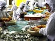 越南是对美国虾类出口第五大国