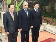 阿尔及利亚记者在越南牺牲40周年纪念日在河内举行