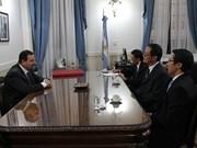 阿根廷希望与越南加强合作