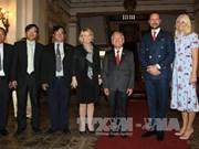 胡志明市领导会见挪威王储