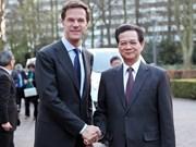 越南政府总理与荷兰首相举行会谈