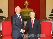 阮富仲总书记会见马来西亚总理纳吉布