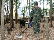 """美国""""越南和平树组织""""协助越南克服战后遗留爆炸物后果"""