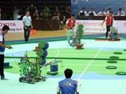 2014年越南中部西原地区机器人大赛正式开幕