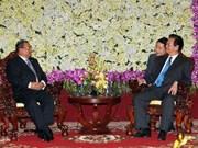 阮晋勇总理同出席第二届湄公河委员会峰会领导举行双边会晤