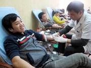 全国各地响应全民献血日