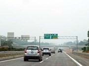 越南河内至老街高速公路A2和A3标段正式通车试运