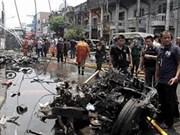 泰国南部发生爆炸袭击事件造成15人伤亡