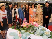 越南参加马来西亚国际餐桌布置艺术展