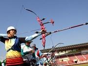 2014年第17次国家射箭锦标赛:河内队夺得团体第一名