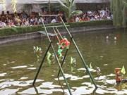 越南水上木偶戏亮相埃及