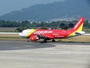 越南越捷航空公司正式开通河内市至富国岛直达航线